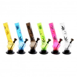 HEMP BONGS ATOMIC MINI IN PVC CANNABIS MIX 15CM X12