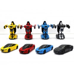 TRANSFORMER CAR MONDO MOTORS DIE CAST C/LUCI E SUONI MIX 1:32