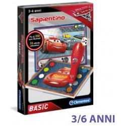 CLEMENTONI SAPIENTINO PENNA BASIC CARS 3