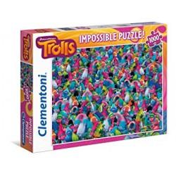 PUZZLE CLEMENTONI IMPOSSIBLE TROLLS 1000PZ *****