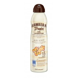 SOLARI HAWAIIAN TROPIC SILK HYDRATION AIR SOFT SPF 15 SPRAY 220ML Super Offerta