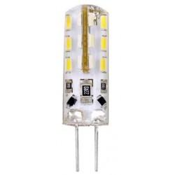 LAMPADINE BISPINA LED G4 2W DC 12V 3000K DYA 170 LUMEN 9X35,5MM *****