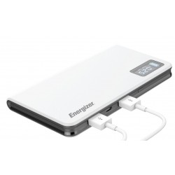 POWER BANK ENERGIZER UE10000 2USB + 1MICRO USB DISPLAY LED 9000MAH polimeri di litio