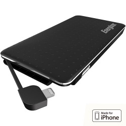 POWER BANK ENERGIZER XP5000A per iPhone 1USB + 1MICRO USB LED 5000MAH polimeri di litio