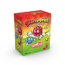 GUMMI HAPPY GAMMY BERRY FUIT FRUTTA 8GR X200