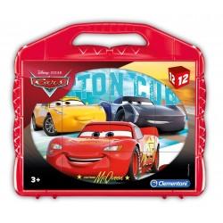 CLEMENTONI PUZZLE VALIGETTA 12 CUBI CARS