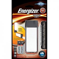 TORCE ENERGIZER FUSION COMPACT LED 2 IN 1 +2AAA TRAY