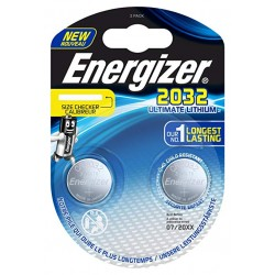 PILE ENERGIZER CALCOLATRICI 2 CR2032 3V ULTIMATE LITHIUM X10 performance