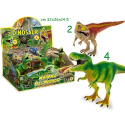 GEO NATURE DINOSAURI RIGIDI MIX X6