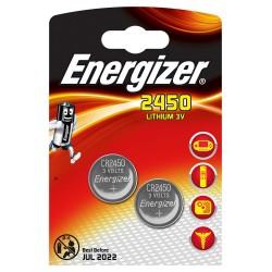 PILE ENERGIZER CALCOLATRICI CR2450 2PZ 3V - singola
