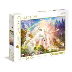 PUZZLE CLEMENTONI SUNSET UNICORNS 500PZ