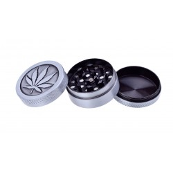 HEMP GRINDER CHAMP HIGH IN METALLO CANNABIS 3 STRATI 40MM X12