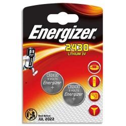 PILE ENERGIZER CALCOLATRICI 2 CR2430 3V - singola