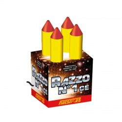 PTY2 PIRICO FONTANE FIRESTARS SPETTACOLO RAZZO N2 11,5X21CM