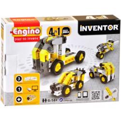 *DAL NEGRO ENGINO INVENTOR 4 MODELLI INDUSTRIAL - 0434