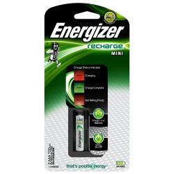 CARICATORI ENERGIZER MINI CHARGER + 2AAA 700MAH POWER PLUS precaricate