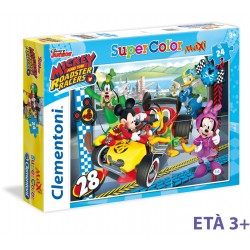 CLEMENTONI PUZZLE MAXI MICKEY & THE ROADSTER RACERS 24PZ