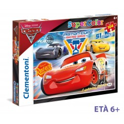 CLEMENTONI PUZZLE CARS 3 104 PZ